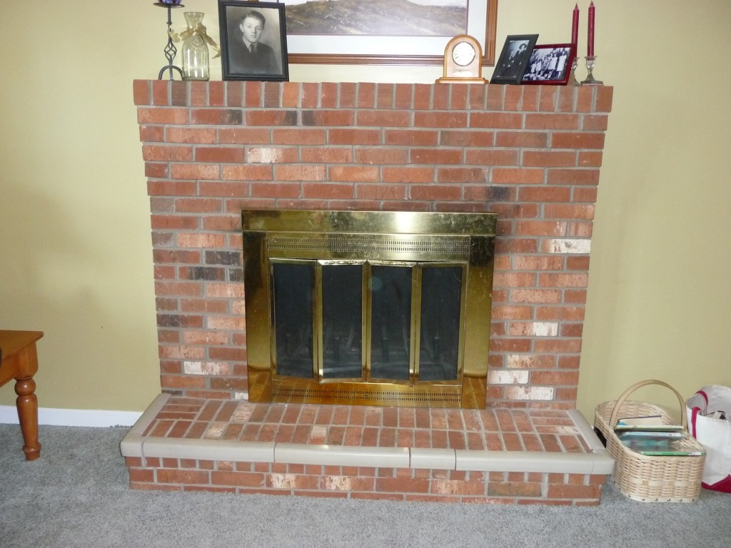 Pinterest Fireplace Makeover Project - Sunrise to Sunset