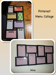 Pinterest Menu Collage