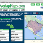 OverlapMaps - Fun Geography Resource