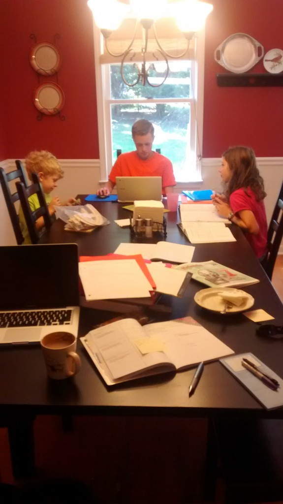 Homeschool Curriculum Mess