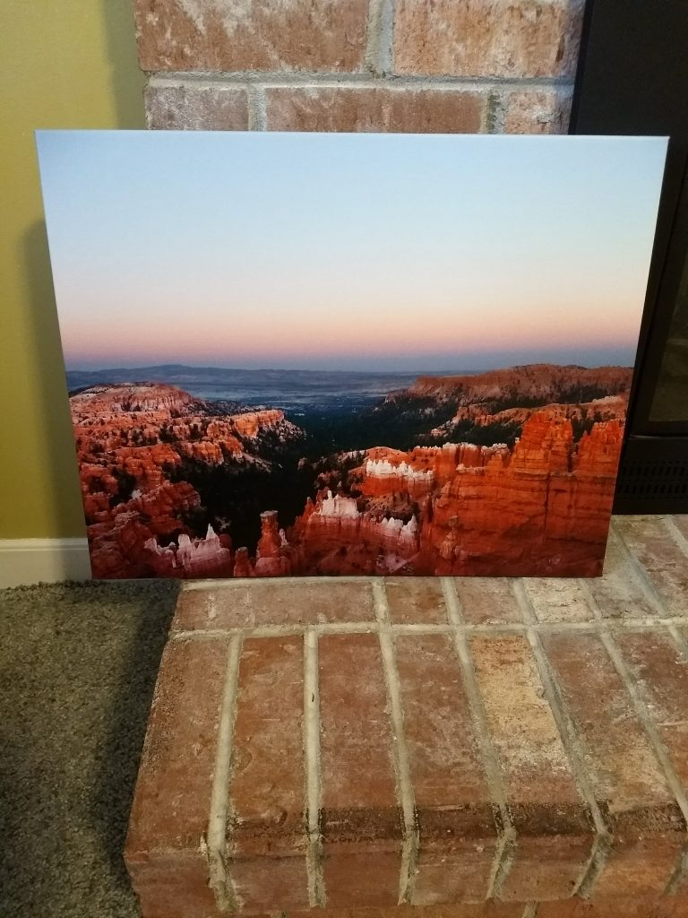 Canvas Press Bryce Canyon print